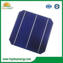 wholesale Taiwan 156mm*156mm mono solar cells, mono crystalline cells in bulk quantity