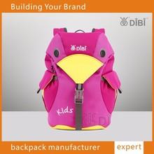 Guangzhou wholesale DIBI popular skip hot zoo pack little kid backpack, funny backpack for kids