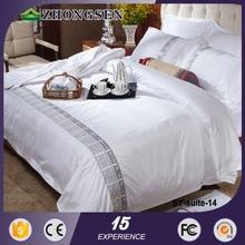 Custom Promotional jacquard four poster bed sets