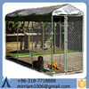 Galvanized Dogs use steel dog kennels cages/ black folding dog cages with best price