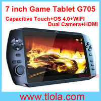 7 inch Android 4.0 MID Tablet Games Download with Touch Capacitive Screen WIFI Dual Camera HDMI G705
