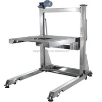 compact food VFFS vertical packing machine with weighing scale