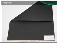 Manufacture provide printable single side black art paper