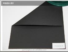 Manufacture provide printable single side black art paper