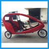 3 people electric rickshaw for sightseeing