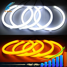 2015 Manufacturer dual color yellow and white smd led for BMW cars headlight