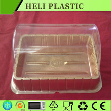 Plastic serving food tray for wagashi with cover