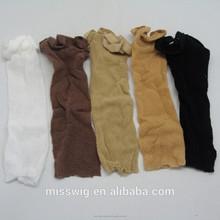 H-223l mesh tessitura dei capelli elastici regolabili tappi parrucca tappi aperto maglia tappi