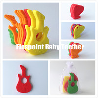 Chewy Tubes Chewy Guitar Set of 4 Sensory Tool Best Selling Baby Toys