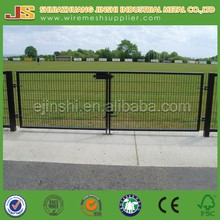 2015 Professional factory wholesale High Quality low carbon steel Decorative Safety Garden metal Livestock Gates
