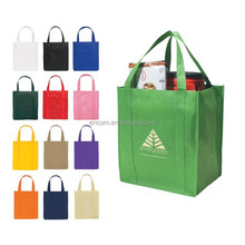 Non-woven Tote Shopping Bag with reinforced handles EC51301
