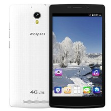Original ZOPO ZP520+ cell phone 4G FDD LTE MT6582M 1.3GHz Quad core phone 5.5 inch 1GB RAM 8GB ROM 8MP Camera android 4.4 GPS
