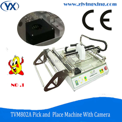 Highest Precision TVM802A Pick and Place Equipment LED Assembling Machine With Vision Camera