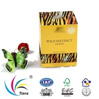 Flocking paper packaging box for perfume bottles
