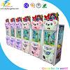 Mini game machine toy crane machine with shinning lights