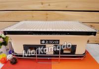 Portable indoor ceramic japanese yakitori BBQ grill