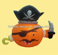 150cm Halloween inflatable pirate pumpkin