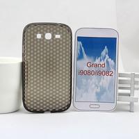 Honeycomb soft TPU cover case for samsung galaxy grand duos i9082