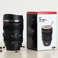 de-iron 24-105mm 5th camera lens thermal cup for coffee