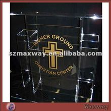 Great adjustable vertical perspex church lectern for prayer