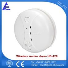 12 - 24 V 2 cables de alarma de humo Detector con la certificación CE