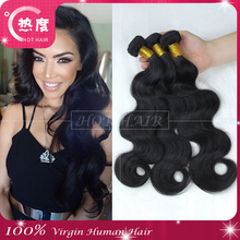2015 best selling products body wave Virgin human brazilian indian hair extension paypal, nails supply and beauty