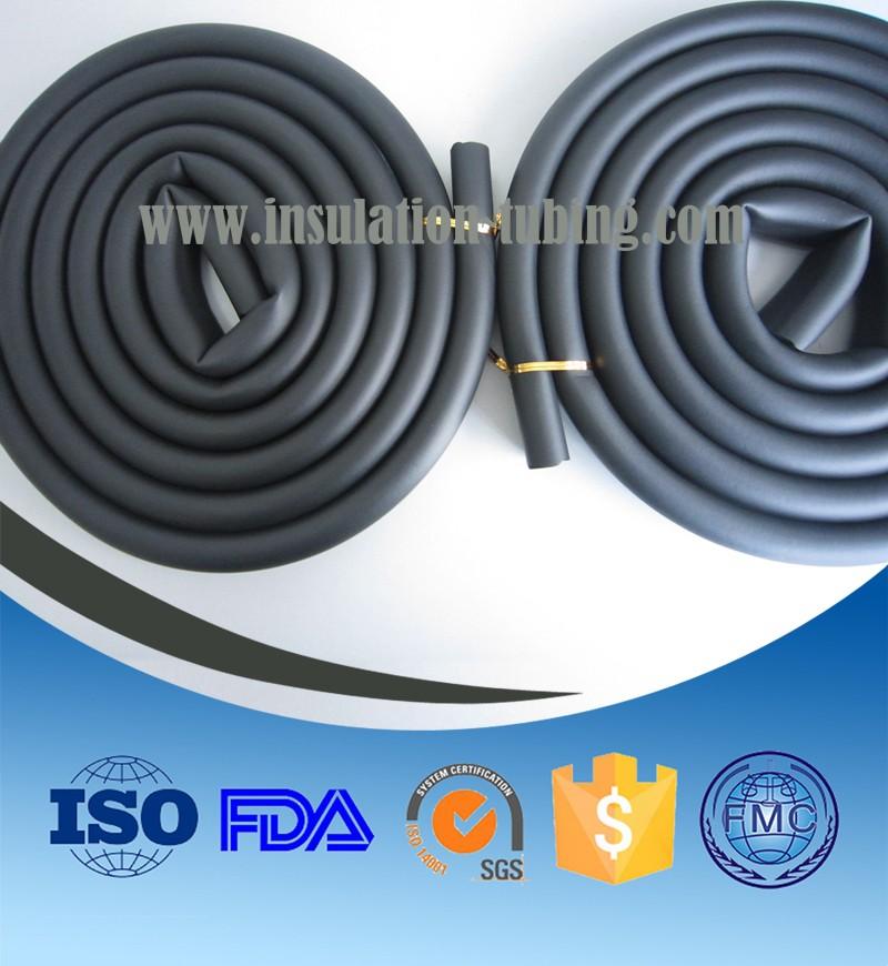 NBR Rubber Foam Extrusion Tube NBR Foam Protection Tube
