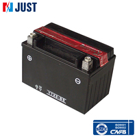 Great power 12v 9ah rechargeable lead acid battery motorcycle