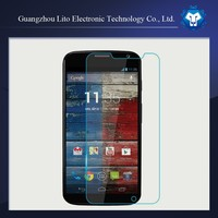 Mobile lcd monitor tempered glass screen protector for motorola x