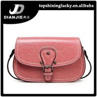 Pink lady sling bag long strap wholesale vintage multi pocket shoulder bags