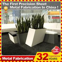 2014 new fashionable hot sale customzied flower pot cover with 32 years experience