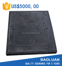 [BAOLUAN]square fiberglass manhole cover e600 en124 british standard hot sale