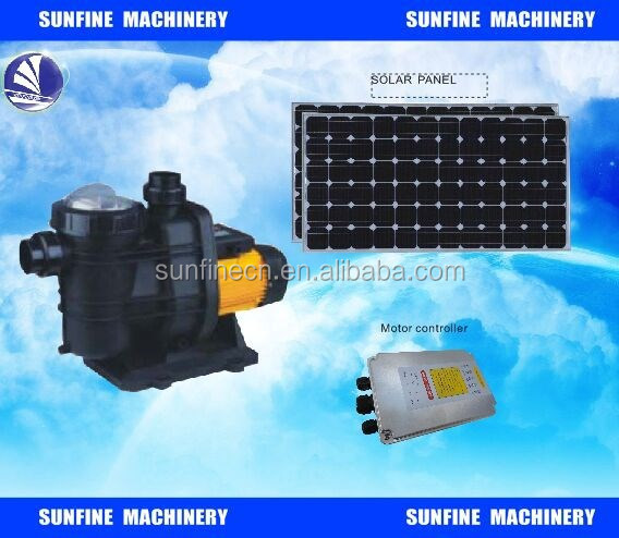 72v Dc Brushless Motor Solar Swimming Pool Pump For