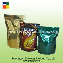 Ambiental de feijão verde bolsa com zíper
