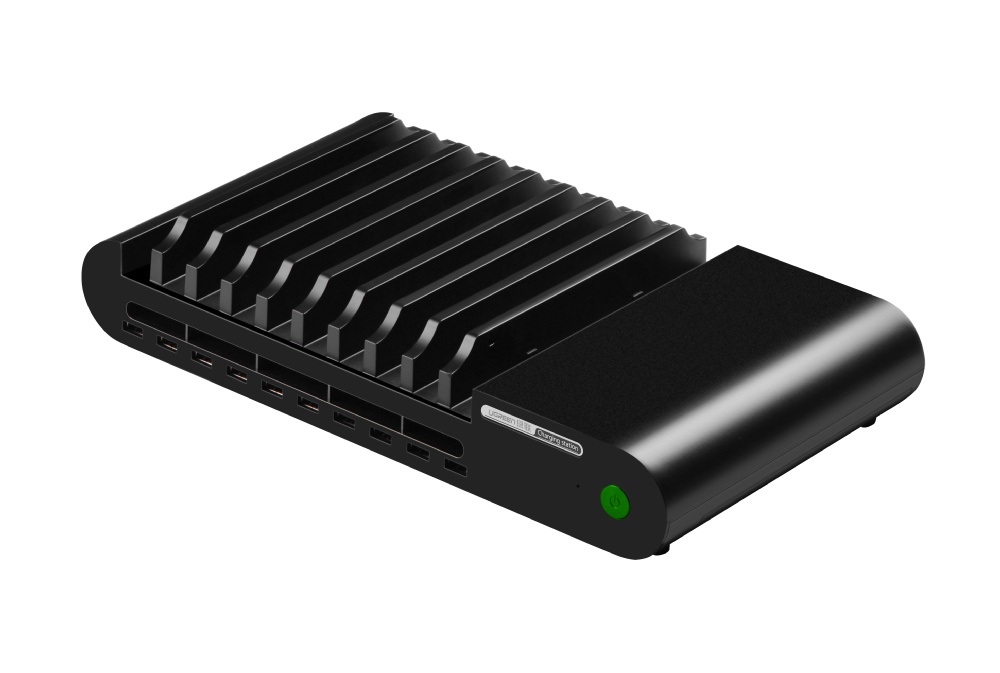 96w 10 Port Multi Tablet Charging Station