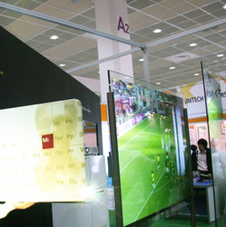 REAR PROJECTION FILM - NON ADHESIVE