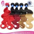 Extensiones de cabello natural chino, cabello humano de rosa, real humanos pelo ombre