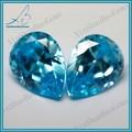 wu zhou pera corte zirconia cúbico chino semi preciosas piedras preciosas azul nombres