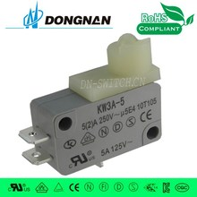 2015 hot sell push button microswitch limit switch self locked switch