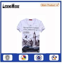 100% organic cotton t-shirt 3d printing