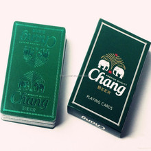 Custom beer promotion paper card game cards printing