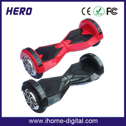 2016 New mini pocket bike scooter scooter two wheels self balancing With Bluetooth and LED Light