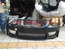 Hot sale PP Plastic 1M Front Bumper for E92 lci/pre-lci with Carbon Fiber Lip