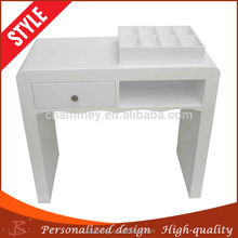 bringing more convenience in daily life wood foldable nail cosmetic desk for saunas,wooden beauty manicure desk therapy chair