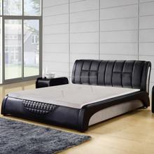 Blue Comfortable gel cooling memory foam mattress topper