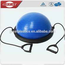 De haute qualité ballon d'équilibre bosu ball ball 55cm bosu balle ballon d'exercice pour les sports
