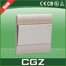250V, 10A, 2Gang, 1 Way Electrical Wall Switches