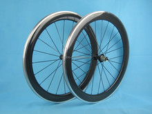 Alloy braking surface clincher wheelset 700c 50mm carbon fiber aluminum wheel for shimano 10/11Speed