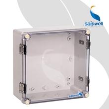 2015 Saip / Saipwell alta calidad plasstic caja eléctrica transparente recinto caja impermeable TJ-ATH-2020-S 200 X 200 X 95 mm