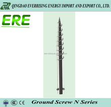Helical Foundation Piles Helical Screw Anchors for solar power